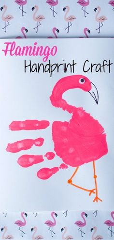 East Flamingo Handprint Craft Klicken Sie hier für Flora und Flamingo, Flamingo Craft und Pink Popcorn Informations About Flamingo Handprint Craft: With a Book Snack Too! The Chirping Moms Pin … Summer Crafts For Kids, Projects For Kids, Art For Kids, Craft Projects, Craft Ideas, Summer Crafts For Preschoolers, Welding Projects, Kids Fun, Pink Crafts