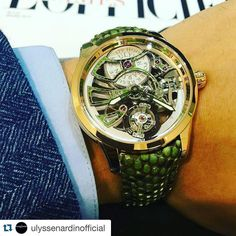 The new #ulyssenardin #Skeleton #Tourbillon #Python #Royal on the wrist. #nardin #watch #novelty #timepiece #photooftheday @ulysse_nardin_aventura @ulysse_nardin_miami @ulysse_nardin_nyc @ulyssenardinkz @ulyssenardin_singapore @ulyssenardintr @ulyssenardinrussia @ulyssenardinitalia @ulyssenardinkg #watch #watches #luxury #fashion #horology #lifestyle #watchoftheday #dailywatch #whatchs #watchgeek #watchaddict #menswear #menstyle #mensfashion #luxurylifestyle #womw #watchesofinstagram…