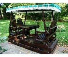 Outdoor Garden 2 Bench Glider. $465.00 Priced New At $1,400+ Not Including  Stain Www