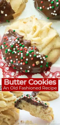 Butter Cookies are a classic holiday treat that are so easy to make! We hope you enjoy this delicious, buttery, old fashioned recipe.