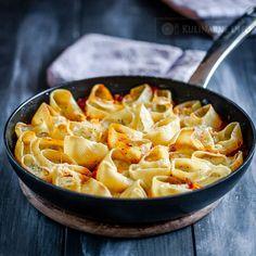 Muszle makaronowe nadziewane ricottą – Przepisy kulinarne ze zdjęciami
