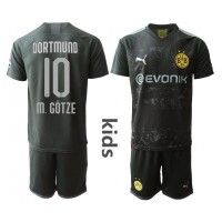 Borussia Dortmund Mario Gotze #10 Replica Away Baby Kit 2019-20(+ Short pants) Short Sleeve