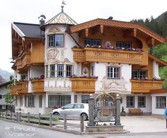 Ferienschlössl Harmonie. Holzgau. Lechtal Tirol Austria