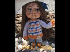 Como tejer cuerpo y brazos muñeca Paola amigurumi By Petus SEGUNDA PARTE 2/7 - YouTube Crochet Videos, Crochet Toys, Free Crochet, Christmas Crochet Patterns, Amigurumi Doll, Free Pattern, Winter Hats, Teddy Bear, Dolls