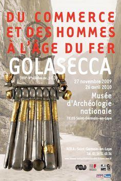 """Exposition """"Du commerce et des hommes à l'âge du Fer : Golasecca (VIIIe-Ve siècles av. J.-C.)"""", du 27 novembre 2009 au 26 avril 2010. © MAN"""