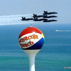 Blue Angels Over Pensacola Beach                                                                                                                                                                                 More