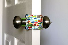 Such a cute & simple idea...gotta remember this one!  Latchy Catchy  in Tiny Traffic  Patents by rosefieldsmarket, $9.95