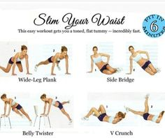 how to have a smaller waist - Google Search