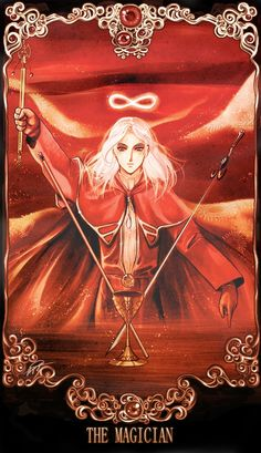 The Magician - artist: Shingo - all powers are within you. You are ready to create your magic into this world.