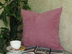 Pink Pillow Magenta Velvet Pillow Magenta Velvet Bed Pillow