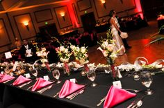 weddings receptions set up in a tent | wedding reception table settings spring