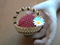 Model created and folded by Campean Petru Razvan This is a tutorial on how to make 3D Origami Mini Basket . This 3D Origami Mini Basket is made from around 8...
