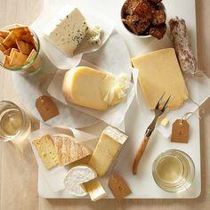 Cheese board essentials.