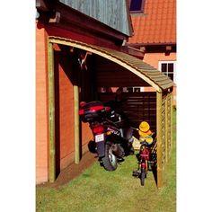 Park Blåvand hegnspakke t/cykeskur / Bredde: 164 cm / Højde: 220 cm