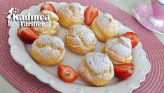 Pratik Profiterol Tarifi Pretzel Bites, Baked Potato, French Toast, Bread, Baking, Breakfast, Ethnic Recipes, Food, Waffles