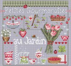 """Madame la fée -  """"Petites Gourmandises"""" 197 x 180 points"""
