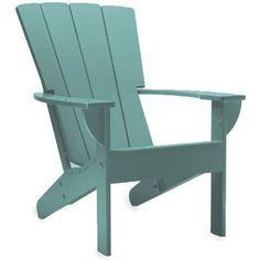 Fan Back Adirondack Chair  Blue Spruce