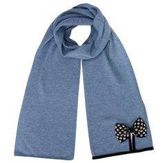 Alice Hannah AUT14 Winter Knit accessories - Daisy Spot Scarf