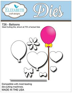 Elizabeth Craft Designs Balloons Metal Die -- You can get additional details at the image link.  This link participates in Amazon Service LLC Associates Program, a program designed to let participant earn advertising fees by advertising and linking to Amazon.com.