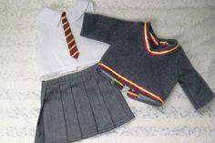 Hogwarts Uniform for American Girl Doll DIY by correenscdesigns
