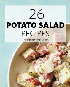Not just picnic fare, potato salad is a goes-with-everything summer side. Pick out a classic recipe or discover a new twist on a favorite.