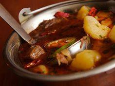 What a delicious goulash. If you go in Hungary you will have to eat it