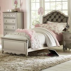 Sterling Full Princess Bed | Weekends Only Furniture and Mattress