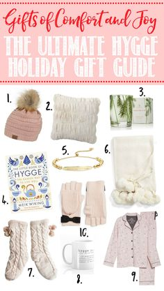 Christmas Gift Guide - Clean and Scentsible Awesome Christmas gift guides to add some hygge to your winter!Awesome Christmas gift guides to add some hygge to your winter! Christmas Gift Baskets, Christmas Gift Guide, Best Christmas Gifts, Holiday Gifts, Christmas Crafts, Christmas Presents, Meaningful Christmas Gifts, Christmas Gifts For Girlfriend, Girlfriend Gift