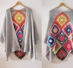 Crochet Jacket, Crochet Cardigan, Crochet Shawl, Sweater Cardigan, Cowl Scarf, Crochet Patterns, Elsa, Scarves, Knitting