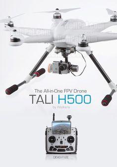 Walkera QR TALI H500 GPS Drone (2.4Ghz RTF Edition) - Walkera-Heli-H500-DEVOF12E