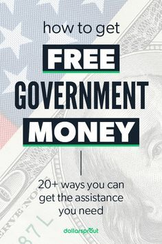 If youre facing a job loss disability or other factors that make it difficult to support your family you may be elligible to get free Government money. Census data million people were living in poverty in Free Money Now, Earn More Money, Ways To Earn Money, Earn Money From Home, Earn Money Online, Money Tips, Money Saving Tips, Way To Make Money, Money Hacks