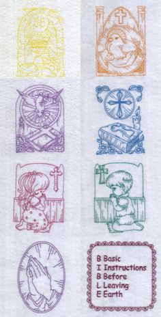 Daily Bread Embroidery Machine Design Details