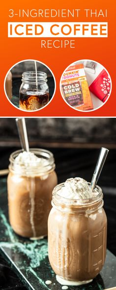 Take time for yourself today and enjoy a truly tasty drink idea with the help of this 3-Ingredient Thai Iced Coffee recipe! Brewing the Dunkin' Donuts® Cold Brew Coffee Packs means that the base of this coffee creation is rich, flavorful, and definitely worth savoring. And when you top with whipped cream and cardamom, this creamy treat comes together in no time. Find everything you'll need by heading to Target!
