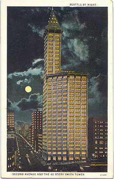smith tower gaggin and gaggin 1914 seattle ca 1915 courtesy
