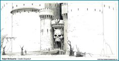 Ralph McQuarrie's He-Man, Masters of the Universe http://filmsketchr.blogspot.com/2012/04/mcquarrie-almost-brought-power-of.html