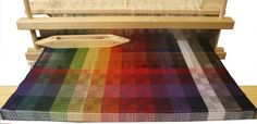 Color Gamp 2 - A Study in Color and Weave Kit from Halcyon.