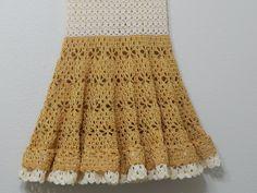 Vestido circular para niña tejido con hilo y gancho el tejido de la falda se puede hacer como falda separada a cualquier medida, aqui esta el nombre del hilo...
