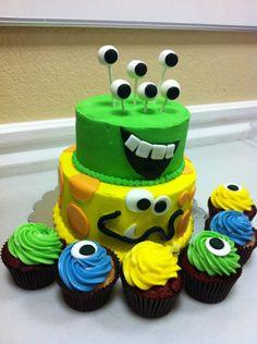 LOVE THIS MONSTER CAKE!!!!