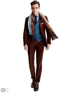Mens Fashion Looks & Style Inspiration Mens Fashion Magazine, Men's Fashion, Gq Magazine, Fashion Suits, Fashion Ideas, Looks Style, Men's Style, Style Men, Suit Fabric