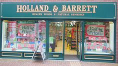 Holland & Barrett in Rugby, Warwickshire Health food shop that sells a range of vegan products. Good for pasties and sausage rolls. Health Food Shops, Holland And Barrett, Vegan Products, Sausage Rolls, Vegan Friendly, Places To Eat, Rugby, Natural Remedies, Range
