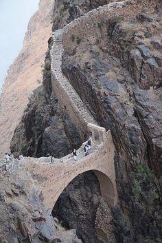 #Shaharah_footbridge in #North_Eastern #Yemen http://directrooms.com/yemen/hotels/index.htm