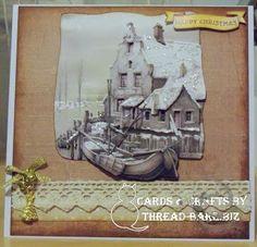 Latest Card using Staf Wesenbeek decoupage x