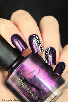 beautiful nail art ideas for all the beautiful women with beautiful nails - . - beautiful nail art ideas for all the beautiful women with beautiful nails – - Purple Nail Art, Purple Nail Designs, Nail Art Designs, Purple Makeup, Fancy Nails, Diy Nails, Beautiful Nail Art, Gorgeous Nails, Beautiful Women