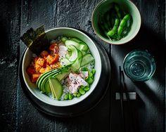 Poké bowl salmon - Poké bowl zalm