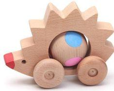 Wooden hedgehoghedgehog kids animal toy waldorf toys by woodenplay