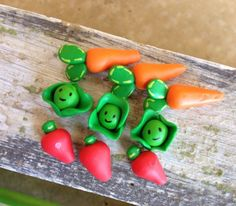 A personal favorite from my Etsy shop https://www.etsy.com/listing/270879053/miniature-polymer-clay-vegetable-garden
