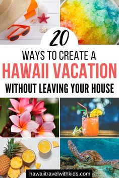20 Hawaiian Experiences in the Comfort of your Own Home Hawaii Travel Guide, Usa Travel Guide, Travel Usa, Travel Advice, Travel Guides, Travel Tips, Virtual Travel, Hawaii Vacation, Staycation