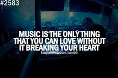 That's the truth is it does break my heart at times only because it can be so beautiful, especially David Gilmour guitar solos I Love Music, Sound Of Music, Music Is Life, Motivacional Quotes, Lyric Quotes, Qoutes, Singing Quotes, Teen Quotes, Quotations