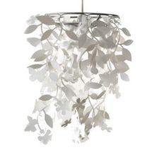 white-leafy-pendant-shade