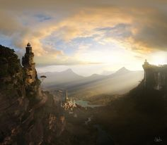 60 Astonishing Matte Paintings That'll Take Your Breath Away  #digital #art #matte #painting